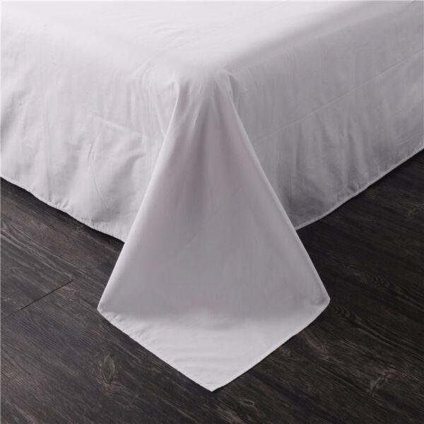 bed sheet close-up