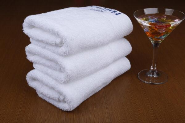 hilton hotel towels