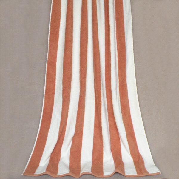 stripy beach towel